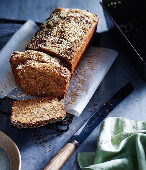 Molasses sugar and sesame banana cake recipe | Dan Lepard :: Gourmet Traveller