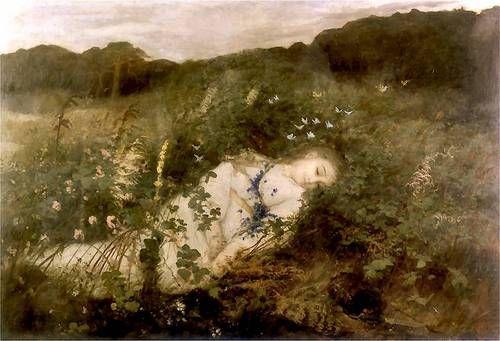 Leon Wyczółkowski - Alina 1880