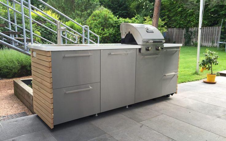 DIY Outdoorküche – Ikea Hack. Mein umgesetztes Projekt 2016. Die Küche ist toll geworden.