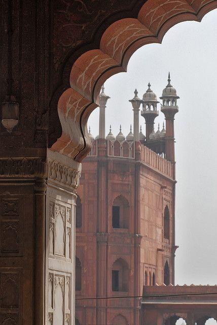 The Jamia Masjid of Srinagar, Nowhatta, Jammu & Kashmir, India