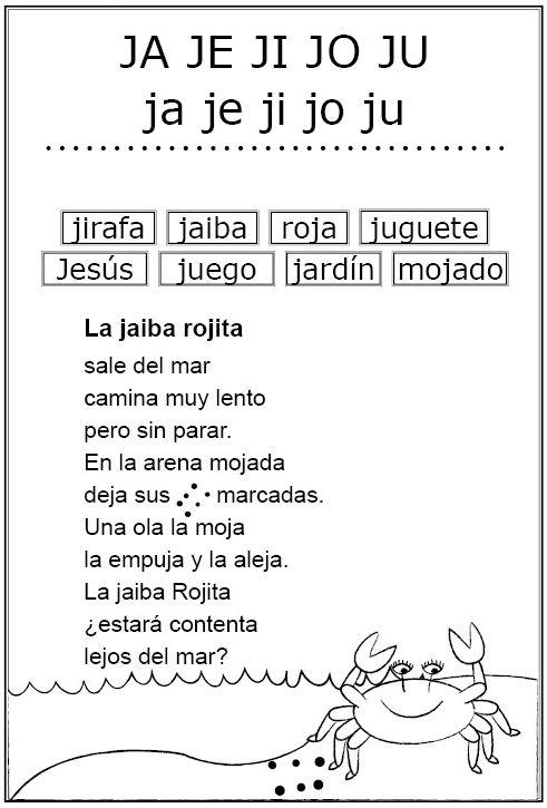 Mazolandia Letras J Ll
