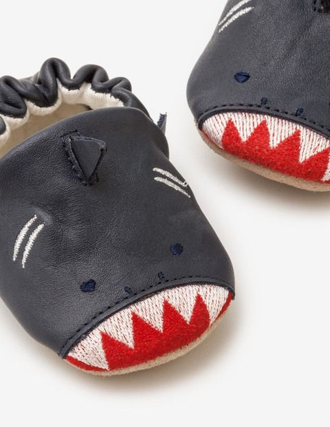 Leather Shark Shoes