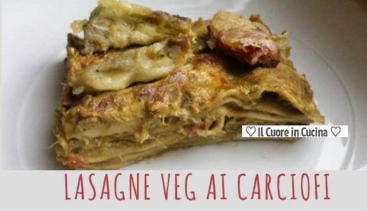Ricetta delle lasagne vegan ai carciofi. Per fare queste lasagne vegetariane useremo della besciamella vegana e dei carciofi freschi. Le lasagne vegan sono