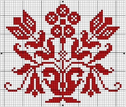 Petite grille cross-stitch - free