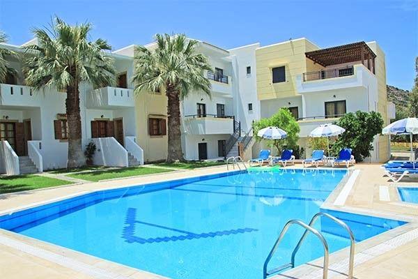 Séjour Crète Voyages Sncf, séjour à l'Hôtel Angelika 3* à Milatos prix promo Voyages Sncf à partir de 499,00 €