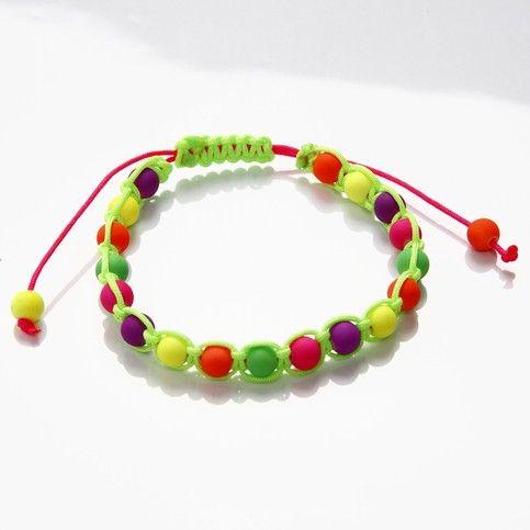 13041 Braiding with Neon Beads