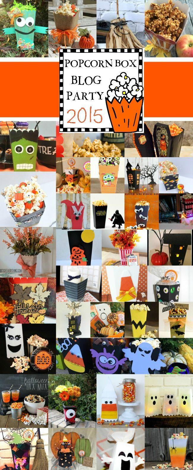 67 migliori immagini Halloween Popcorn Box Party su Pinterest