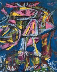 Bez názvu, 1962  Pravoslav Kotík (1889, †1970 v Praze) byl český malíř a grafik.