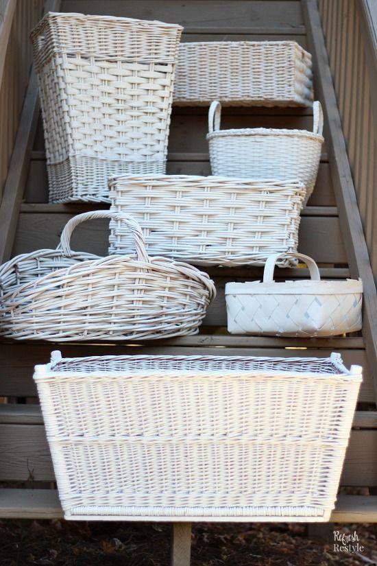 Get Organized with Storage Baskets - Refresh Restyle