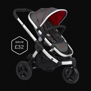 Peach All-Terrain Pushchair - Pace