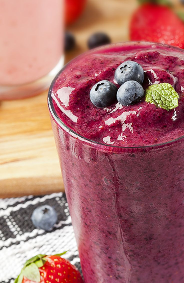 healthy fruit smoothies with almond milk fruits and veggies in season