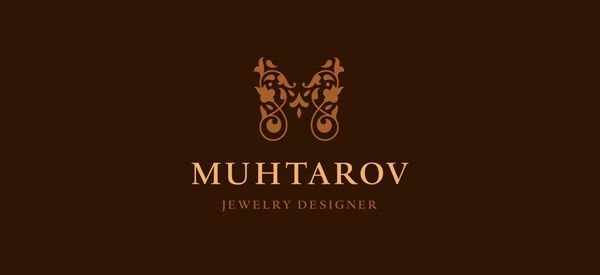 Selected logos by Nikita Lebedev, via Behance