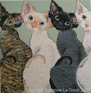 Suzanne Le Good -Devons.  She has a very cute style.  Check out her gallery.