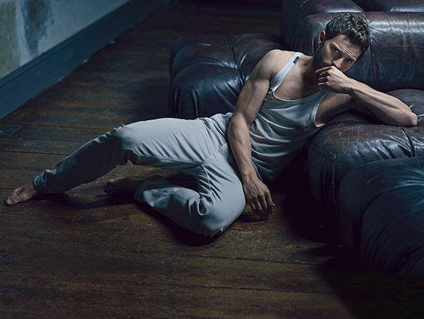 Jamie Dornan in Dolce & Gabanna tank top jeans by Tod's Can Fifty Shades of Grey Star Jamie Dornan Dominate Hollywood?: Celebrities : Details