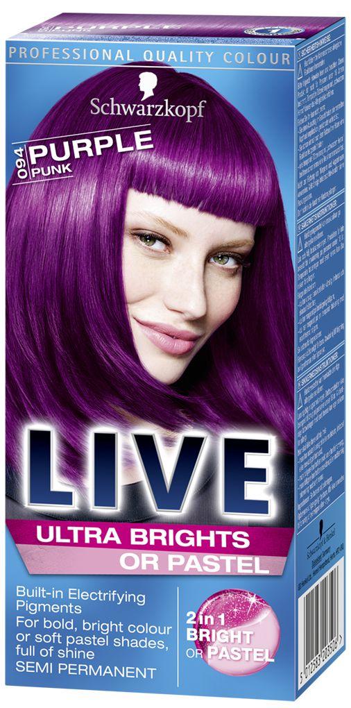8 Best Live Colour Semi Permanent Hair Dyes Images On Pinterest