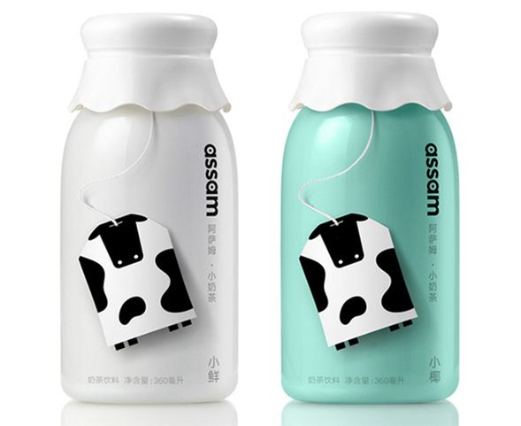 Дизайн упаковки молочного чая