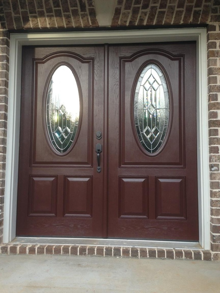 Sherwin williams polished mahogany 39 sw2838 porches and for Mahogany exterior door