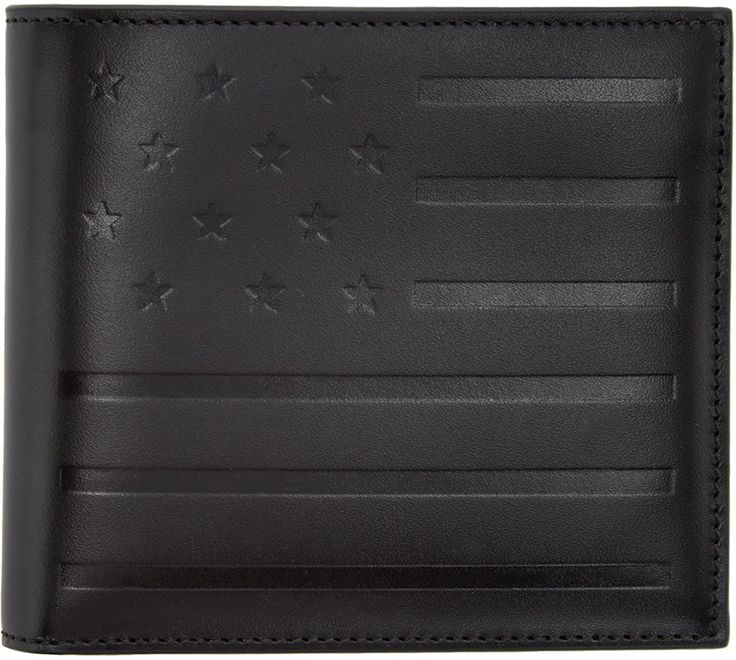 Givenchy - Black American Flag Wallet 450 EUR / $680. 23 Dec 2016 on sale at Ssense was $680, now 347, only one left.