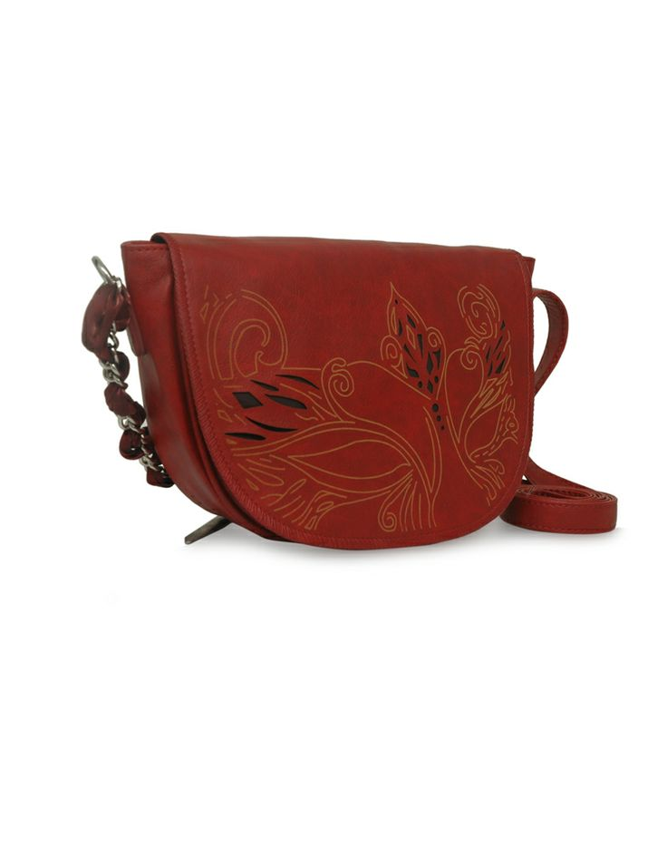 Daisy Dum Red - A red hot handbag by Baggit