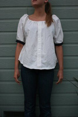 Sew easy!  I wonder if my husband will notice when his shirts start missing...