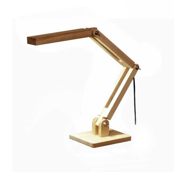 Wooden Table Lamp /// No.2