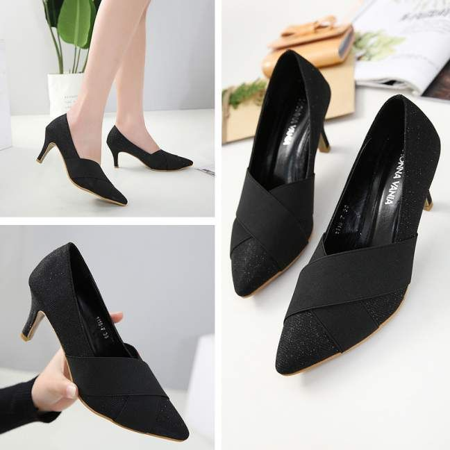 Sepatu Monna Vania 1118 7 Terbaru 2018 Sepatu Sepatu Tumit Tinggi Model Sepatu