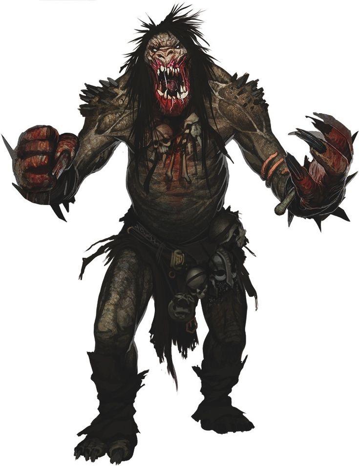 monstrous humanoid pathfinder