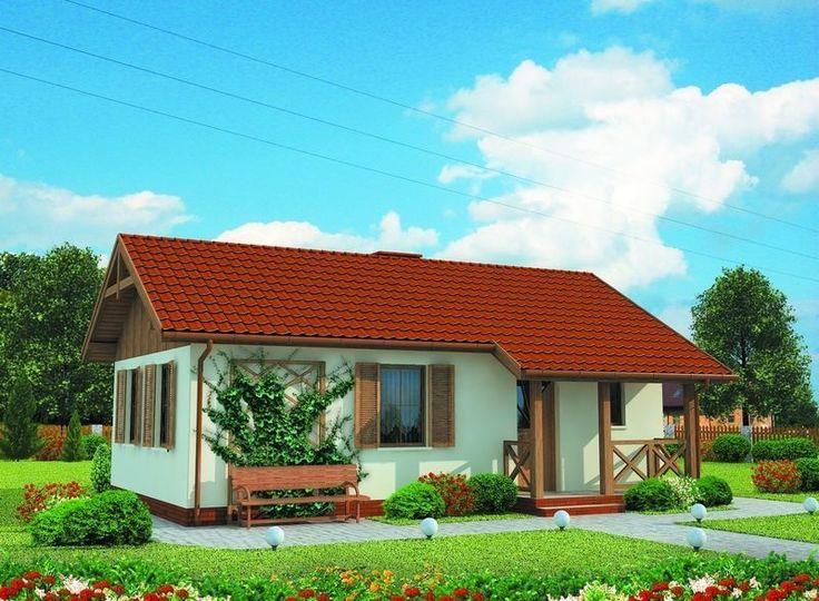 Projekt domu  DOM PT2-53 - gotowy projekt domu