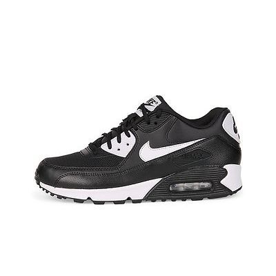 Nike Air Max 90 Essential Classic Black White 616730 023 Kids Women 6-8.5