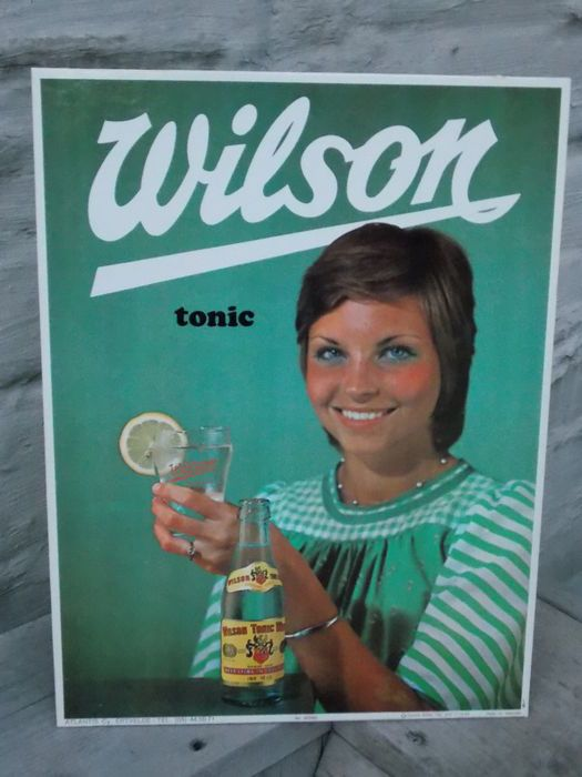 Catawiki online auction house: Frisdrank:  Wilson Tonic- ontwerp Louis Gille- 1969