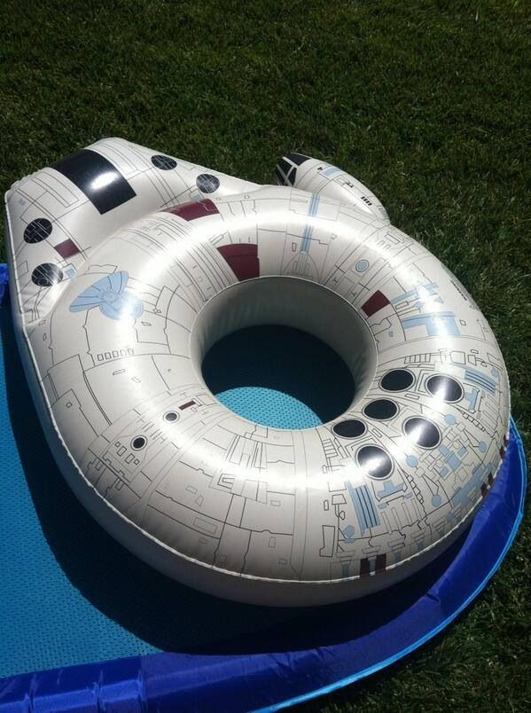 Best pool float. Ever.