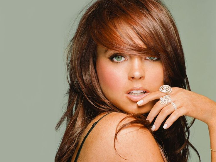 Lindsay Lohan when she was young, without drugs sex and scandals... Her red hair highlights her green eyes perfectly: Hair Ideas, Hairstyles, Hair Styles, Haircolor, Makeup, Colors, Lindsay Lohan, Haircut, Hair Color