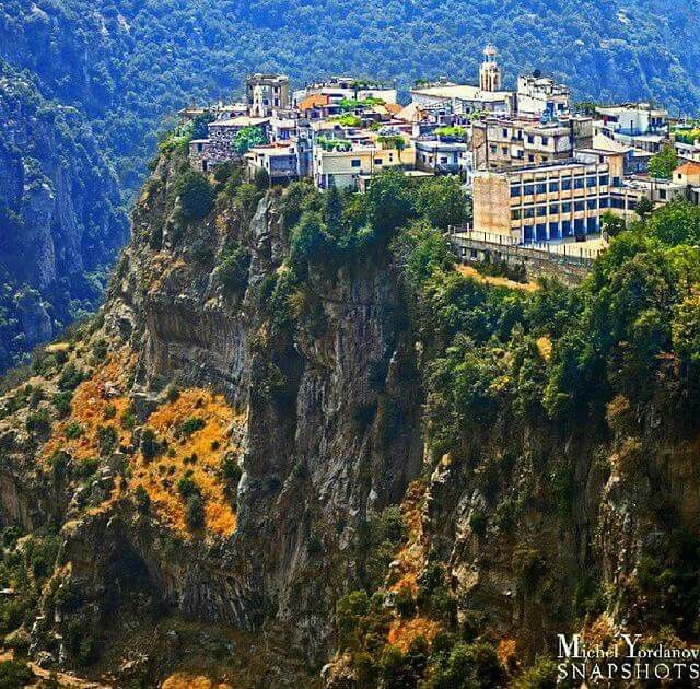 Hadchit, Lebanon. Hadchit is an ancient Phoenician settlement located 126 km from Beirut with an elevation of 1400 m above sea level, and accessible from two main roads. (V)