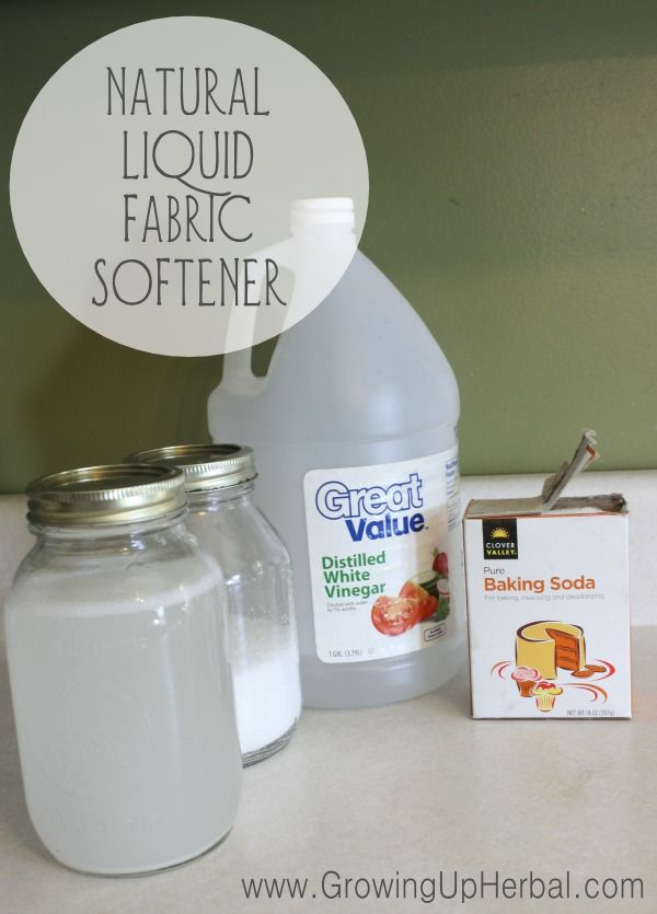 Homemade fabric softener is not only cheap and easy to make, but it's safe for your skin. Homemade fabric softener will have your clothes smelling fresh, just the way you like.