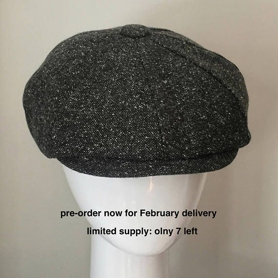 New Era Gatesby Peaky Blinders Style  Paper Boy Hat Flat Cap
