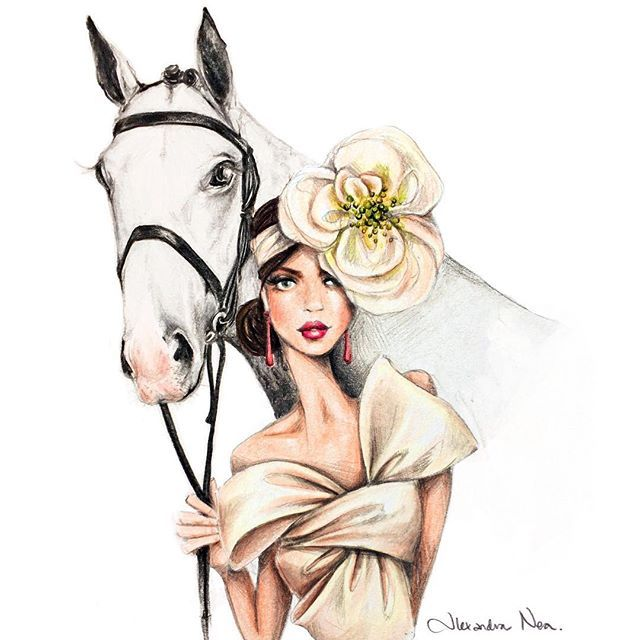 Whose excited for a big weekend at the Races?! Put your best Fashion foot forward in 'The Fashion Chute' this Saturday at Rosehill Gardens for The @longines Golden Slipper Day. I'll be there with my pencils sketchy sketchy sketching! #RosehillGardens #TheRaces
