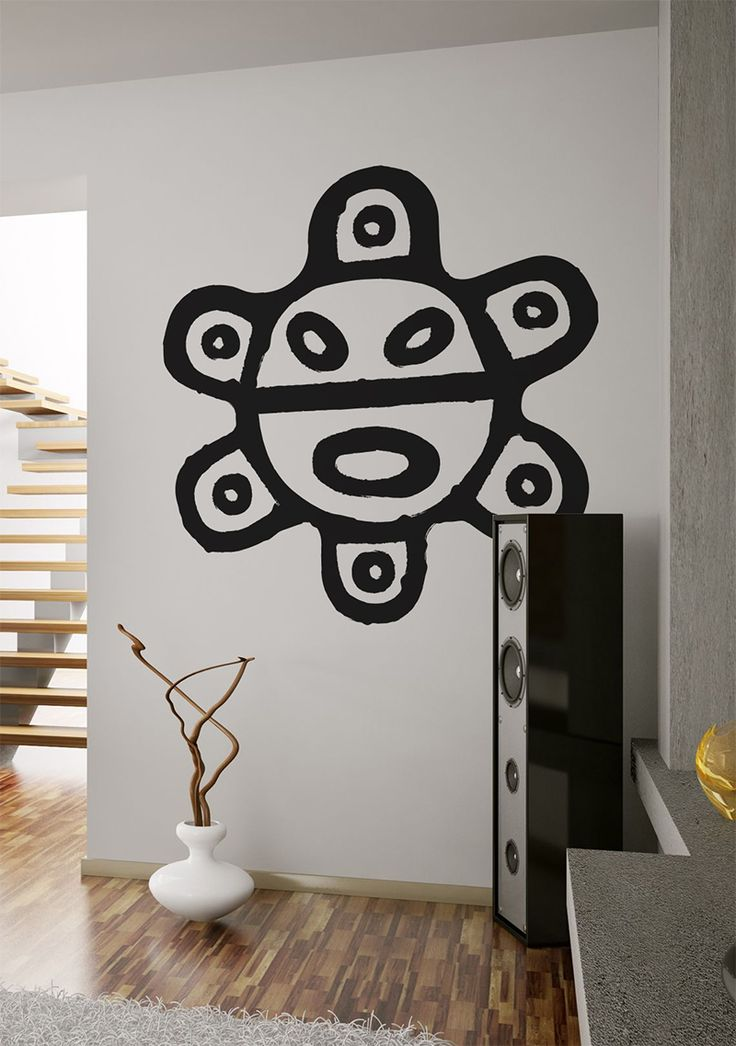 Sol de Jayuya Taino petroglyph ....native pride home decor!!! from www.tainorising.com ...love this and their larger version too!