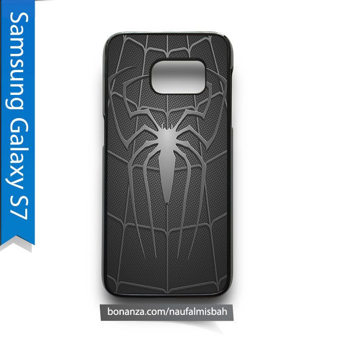 Spiderman Black Samsung Galaxy S7 Case Cover - Cases, Covers & Skins