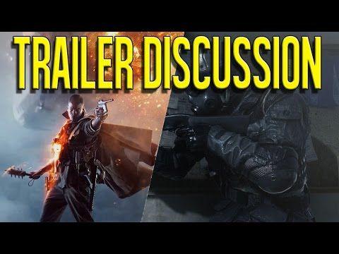 Battlefield 1 vs. Call of Duty: Infinite Warfare | Trailer Discussion - IAmPattyJack - YouTube