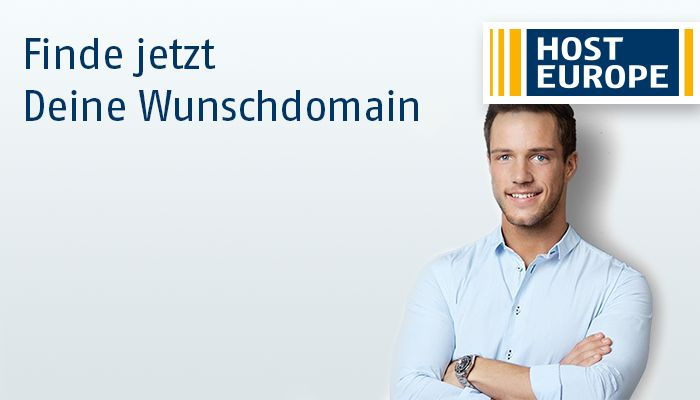 Finde Deine Wunschdomain über Host Europe: https://www.hosteurope.de/Domain-Namen/Preis/ #Domains by #HostEurope (#Host #Europe)