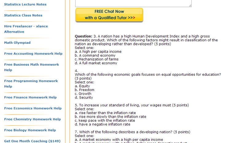 A nation has a high Human Development Index and a high gross domestic product. Which of the following factors might result in classification of the nation as developing rather than developed?....Economics homework help
