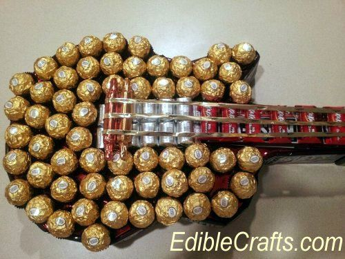 DIY chocolate guitar