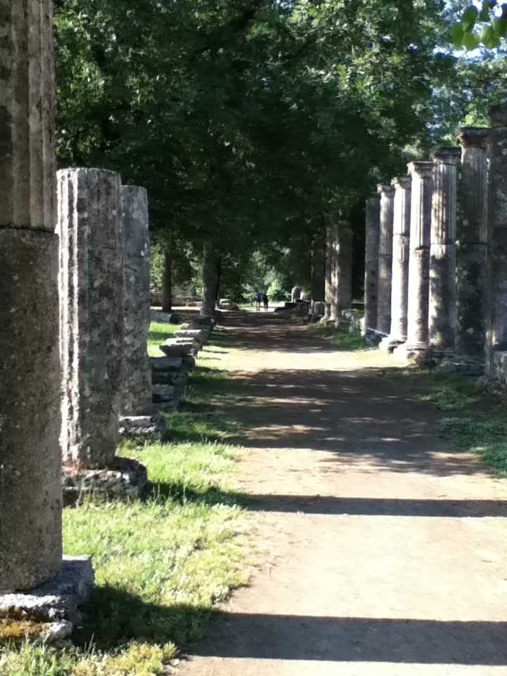 Ancient Olympia, Greece #outdoorsgr