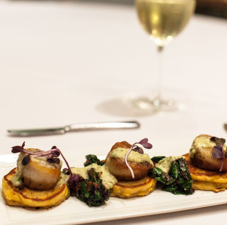 Criollo is changing the way you scallop. Try our new take at lunch today.