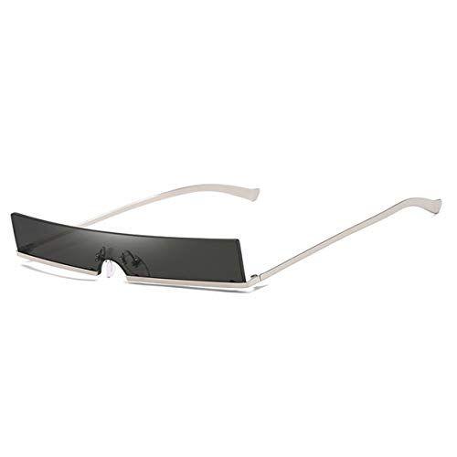 da2c39149162c Lunettes anti-UV lunettes anti-UV uniques et sans monture Lunettes de soleil  surdimensionnées