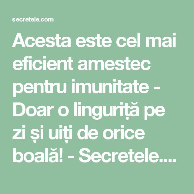 Acesta este cel mai eficient amestec pentru imunitate - Doar o linguriță pe zi și uiți de orice boală! - Secretele.com