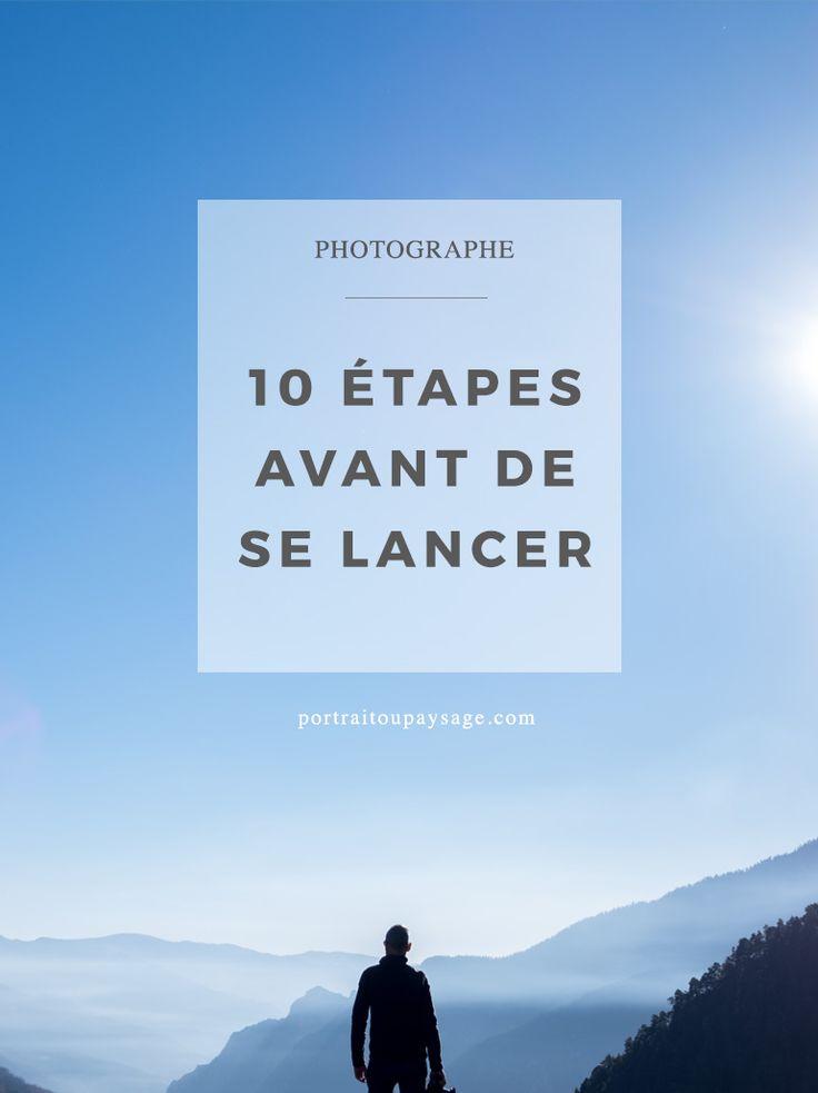 Devenir photographe professionnel : 10 étapes avant de se lancer