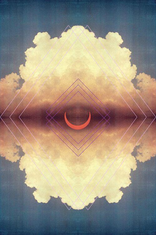 nuage rosé lunaire