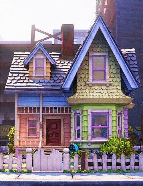Best 25 disney up house ideas on pinterest button for Houses images pictures