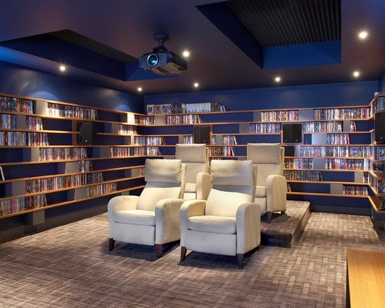 Home Media Room Designs Stunning Decorating Design